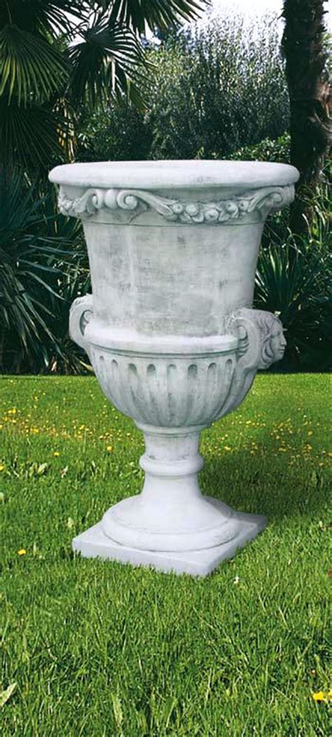 Outdoor Vase by Large Hora Vases Italian Marbe Planters Gardens