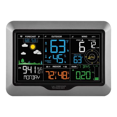 la crosse technology wifi compatible professional weather