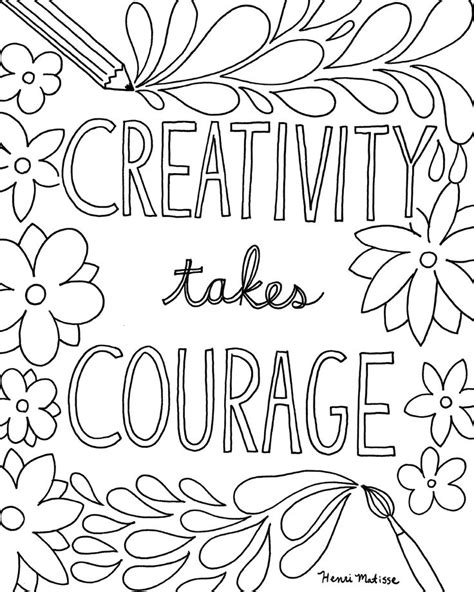 printable coloring pages of quotes 26 best images about coloring book pages on pinterest