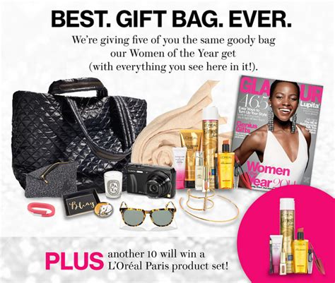 Glamour Sweepstakes - thrifty momma ramblings glamour s 2014 women of the year gift bag sweepstakes