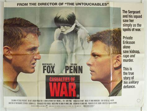 Vcd Original Casualties Of War casualties of war original cinema poster from