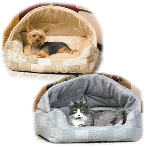 hooded cat bed hooded cat bed dog sleeper 20 x 25 in color teal