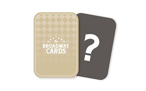 Broadway Gift Card - the broadway cards on pantone canvas gallery