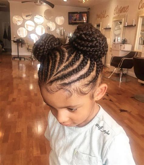 black kids plaited lines styles so adorable via tiff styles https