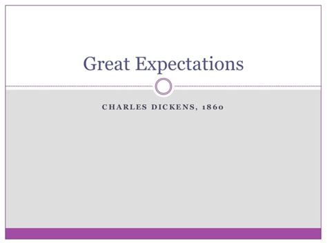great expectations themes slideshare great expectations marta m