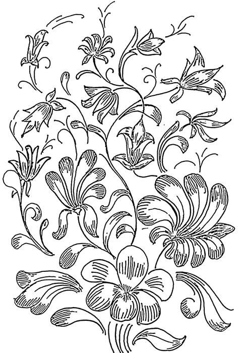 flower design in glass flower printed mind flowers design pattern
