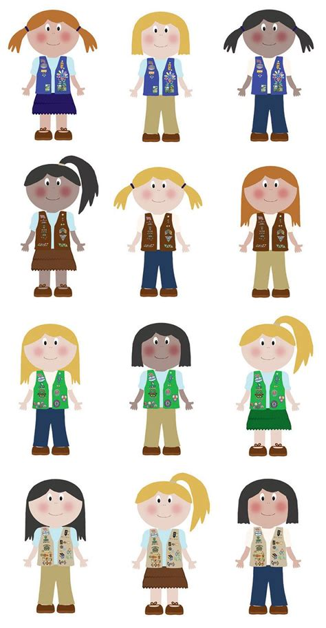 clipart scout best 38 scout clipart ideas on brownie