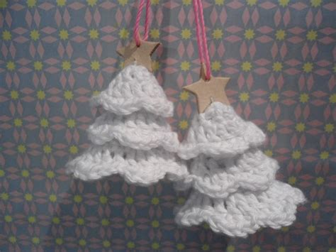 crochet pattern christmas tree ornament recipe for crocheted christmas trees crochet knit tat