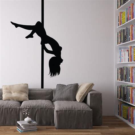 pole for bedroom pole dancer vinyl wall art decal for home decor interior design bedroom ebay