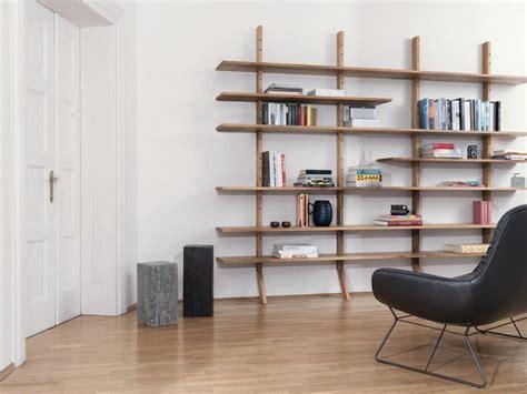 scaffali a giorno scaffale a giorno a parete in legno ks01 by janua design