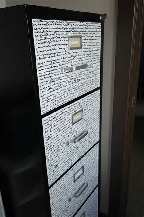 Metal Filing Cabinet Makeover Metal File Cabinet Makeover Time To Get Organized Pinterest