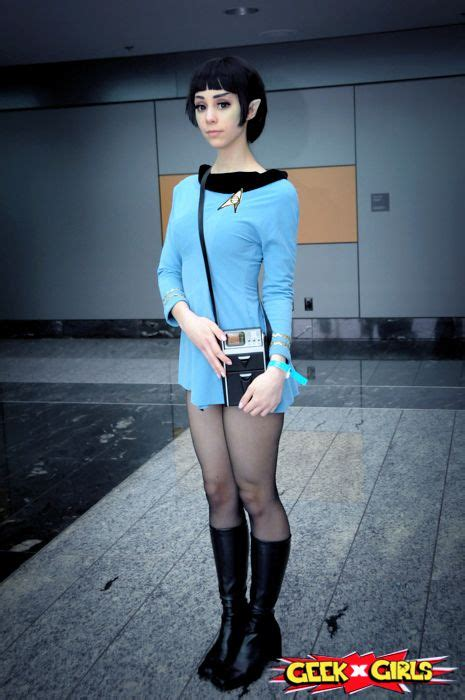 sfemale co stair black list me as fem spock for fan expo vancouver 2013