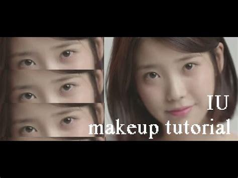 iu natural makeup tutorial iu 아이유 palette 팔레트 makeup tutorial youtube