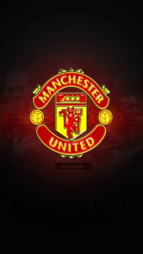 Garskin Manchester United Mu Fc Screenguard For Iphone 4 4s manchester united iphone wallpaper wallpapersafari