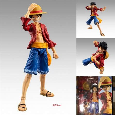 One Fever Toys Monkey D Luffy anime one figures monkey d luffy 18 cm pvc figure op pvc doll series