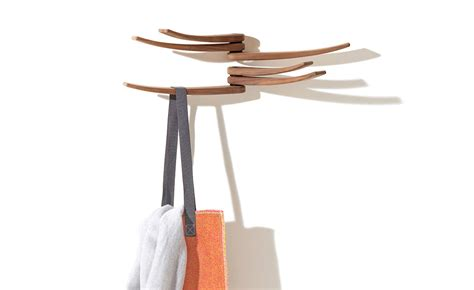 wing wall mounted coat rack hivemodern
