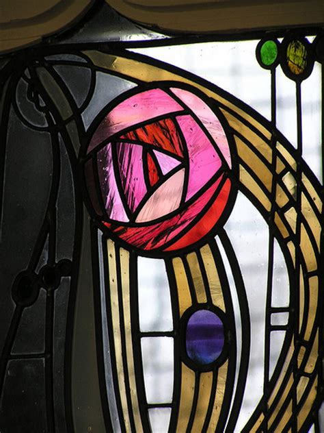 charles rennie mackintosh designs scottish stained glass
