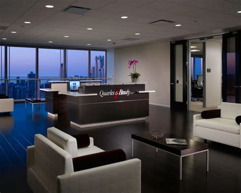 Forrer Business Interiors by Quarles Brady Llp Chicago Office Design On Behance