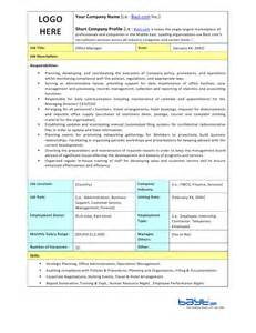 Office Manager Description Office Manager Description Template By Bayt