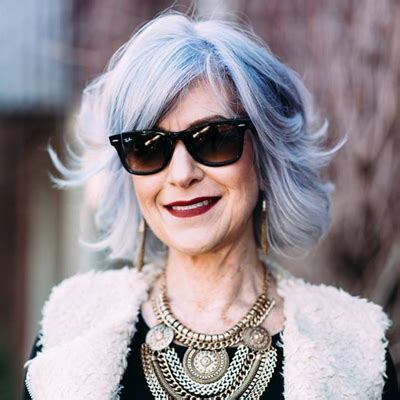 funky hair color for artsy older women 2017 freshest hair colors for mature women best hair