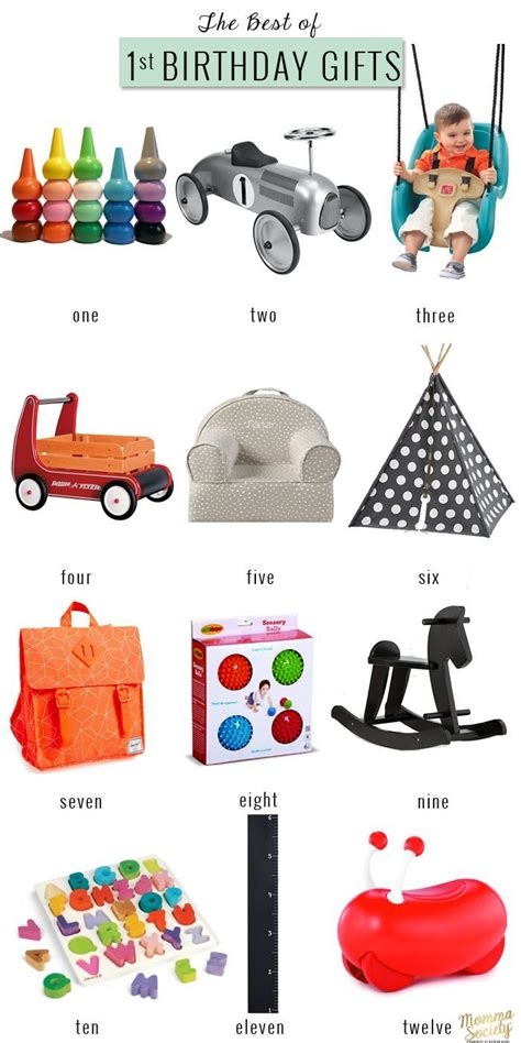 The Best Of First  Ee  Birthday Ee   Gifts For The Modern Baby