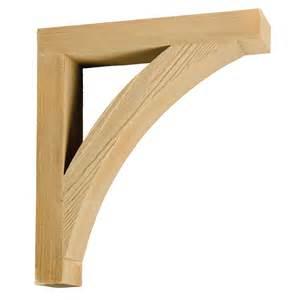 Decorative Exterior Wood Brackets Item Bkt16x18x4s