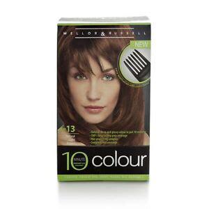 10 minute hair color 3xmellor 10 minute colour no 13 light