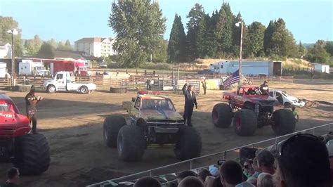 monster truck show 2013 hutton motorsports monster truck show intro s cowlitz