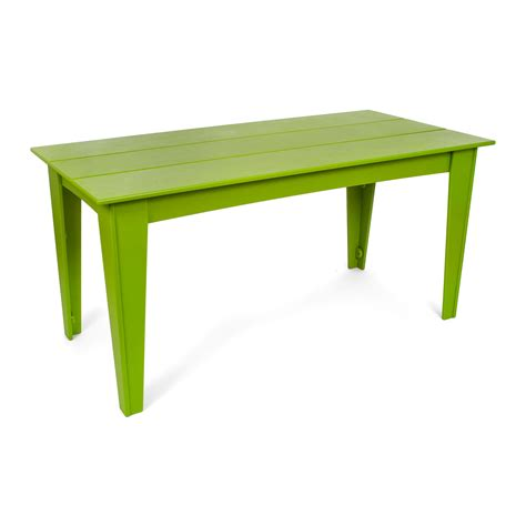 Green Table L Loll Alfresco Rectangle Table Outdoor Table Gr Shop Canada