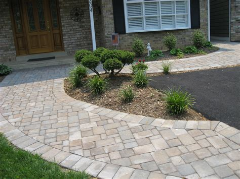 paver walkway design garden advice for your home