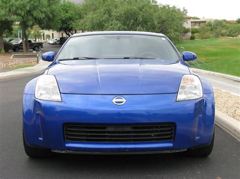blue nissan 350z fs 2003 nissan 350z performance daytona blue 6mt