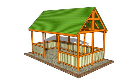 building a backyard pavilion outdoor pavilion plans howtospecialist how to build