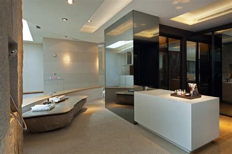 Modern Bathroom Ensuite Brown Bathroom Ensuite Design Ideas Photos Inspiration