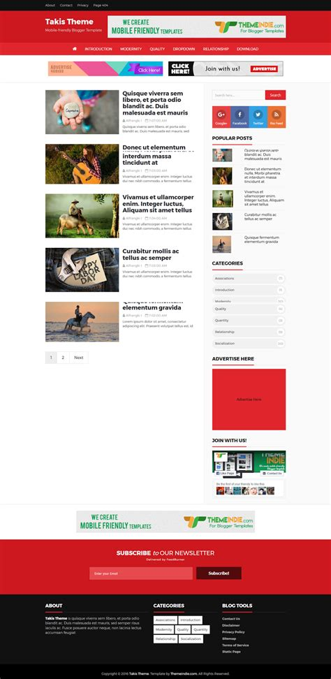 templates for blogger free xml takis high ctr responsive blogger template