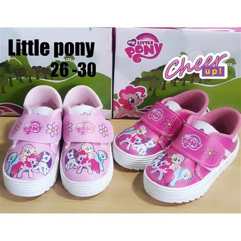 Stok Terbatas Sepatu Anak Perempuan Flat Shoes Pony sepatu anak perempuan pony 2 warna elevenia
