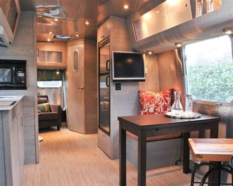Trailer Interior by Awesome Airstream Renovations Ideas For Travel Trailers