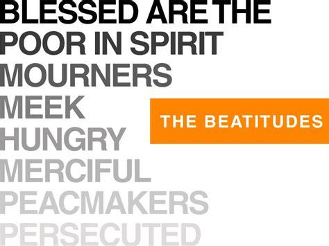 jesus poor in spirit poster making the beatitudes my own blogthechurch