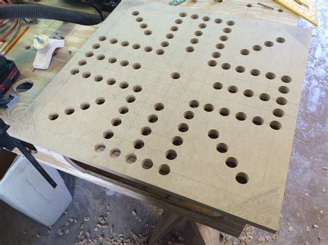 making a wahoo board game dailey woodworks