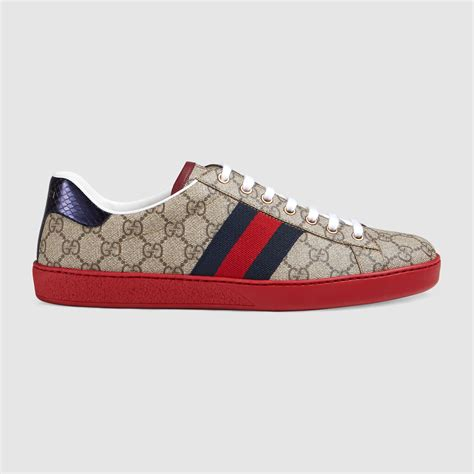 Gucci Shoe ace gg supreme low top sneaker gucci s sneakers 429445k2lh09767