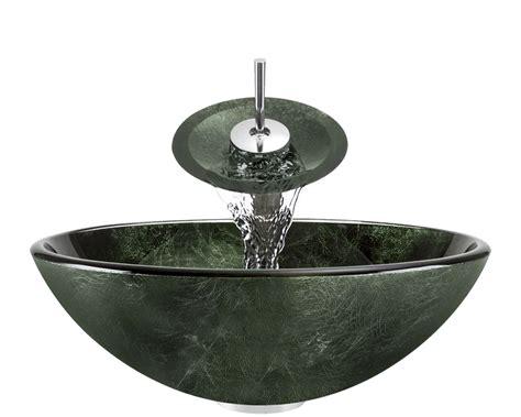 green glass bathroom sink 629 forest green glass vessel bathroom sink