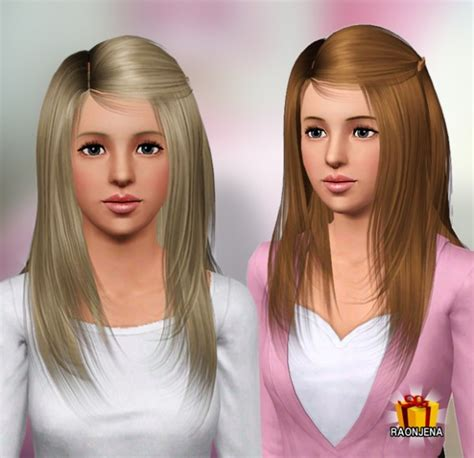 14 best images about sims 3 hair on pinterest straight hairstyle hair 02 by raonjena sims 3 hairs