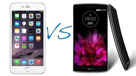 g iphone 6 iphone 6 plus vs lg g flex 2 comparison macworld uk