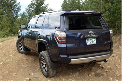 Toyota 4 Runner Review 2017 Toyota 4runner Trd Road Trail Review Archaic In