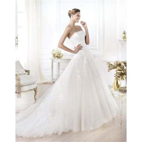 pronovias wedding dresses for sale preowned wedding dresses leonie pronovias wedding dress 2014 collection bridal gown