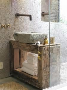 rustic bathroom sink reclaimed wood single bathroom vanity with