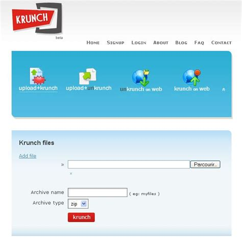 compress pdf en ligne application web 2 0 krunch compression d 233 compressoin en