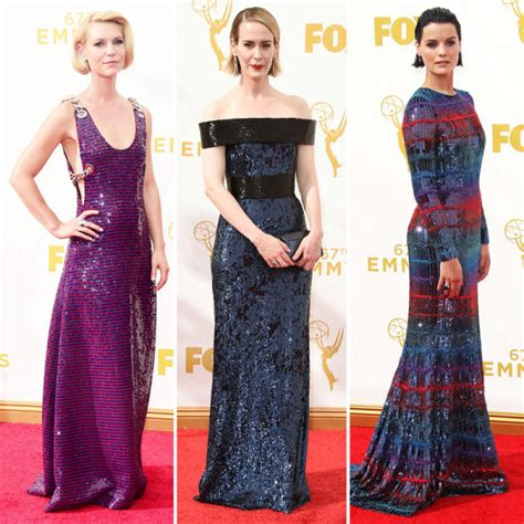 Report Emmy Nominees List Is Out by Zoe S Emmy Awards Best Dressed List