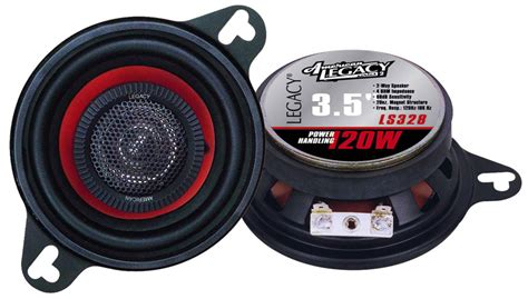 Speaker Legacy 8 Inch legacy car audio ls328 3 5 120 watt two way speakers pair ls328