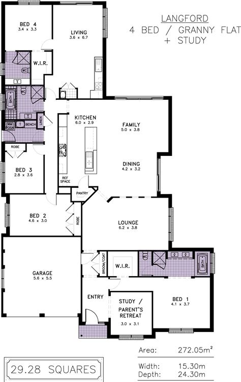 house plans with granny flat bestloor plansor grannylats interior design home remodelingresh and tips house plan