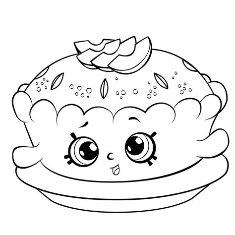 apple blossom coloring page shopkins apple pie shopkins coloring page f 228 rgl 228 ggningsbilder
